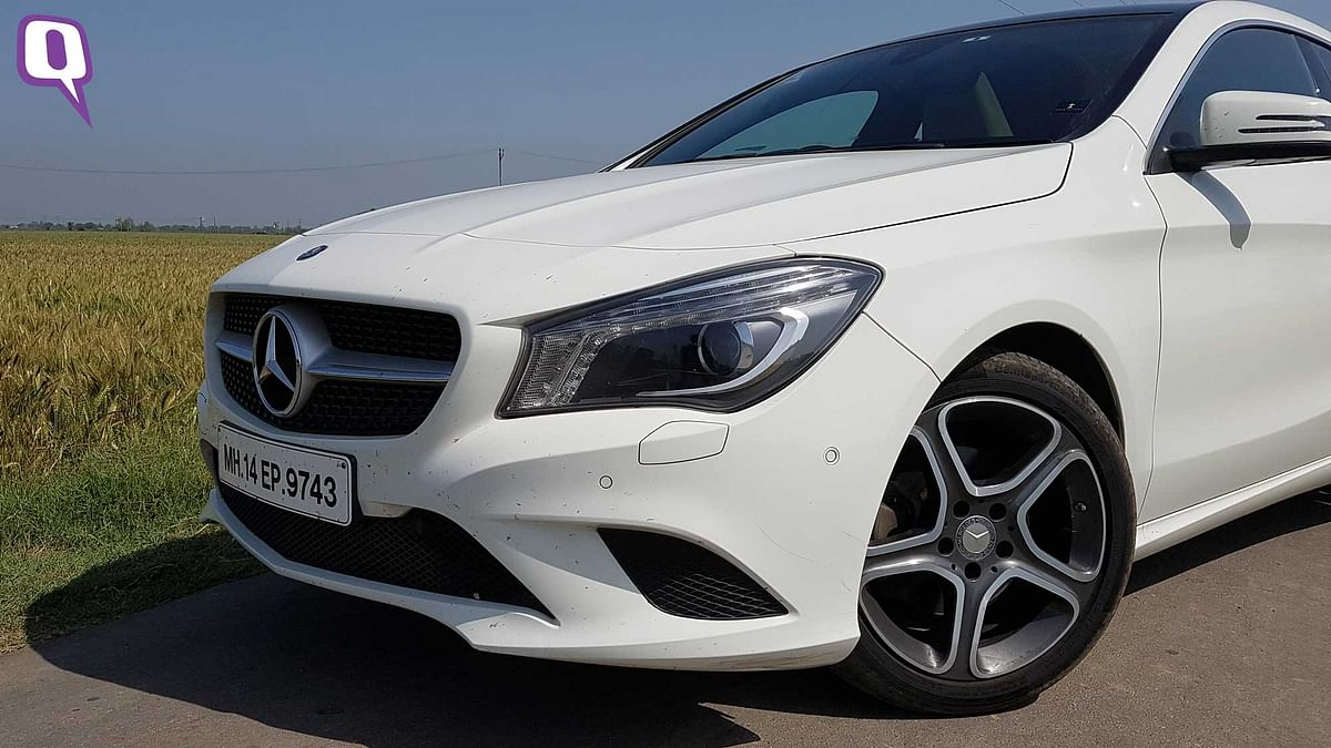 The 17-inch wheel design makes the Mercedes-Benz CLA200 look sporty. (Photo: <b>The Quint</b>)