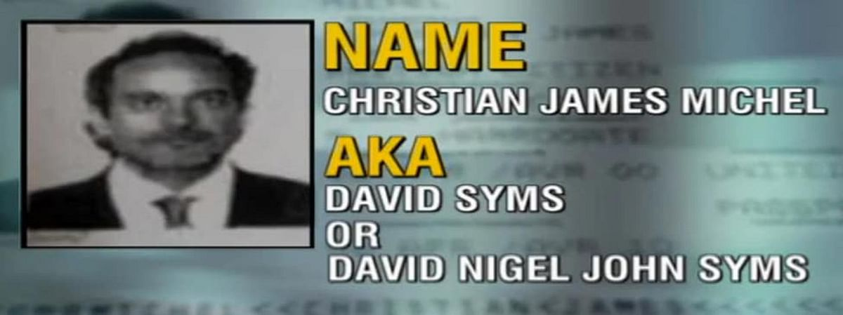 The picture of AgustaWestland kingpin, Christian Michel. (Photo Courtesy: Screenshot from CNN)