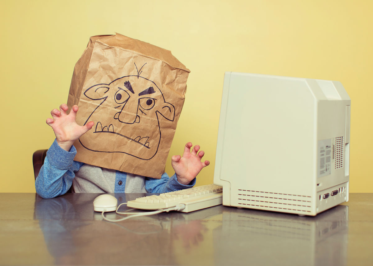Twitter trolls are usually anonymous (or they assume a fake identity.) Anonymity enables the troll to say whatever he or she wants, without either fear of repercussions or empathy against the victim. (Photo: iStockPhoto)