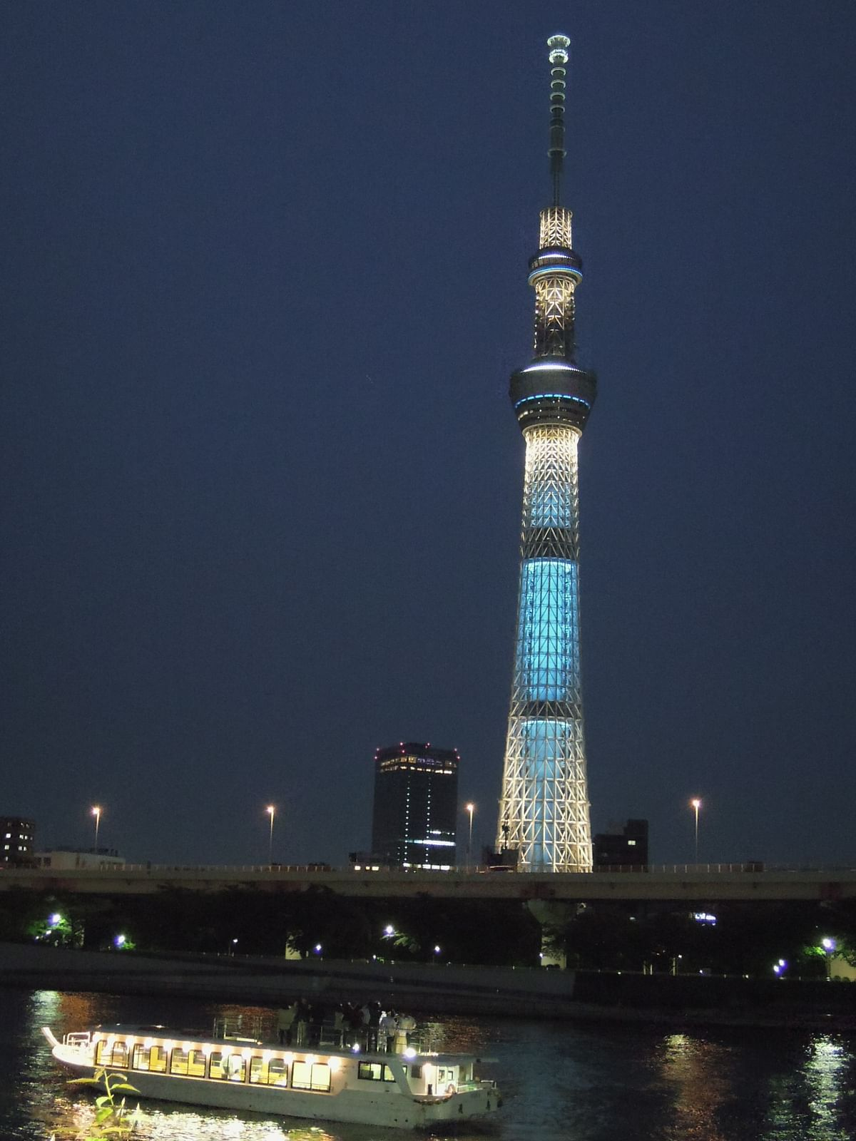 The Tokyo Skytree is one of the city's newest landmarks. (Photo Courtesy: Japan National Tourism Organization)