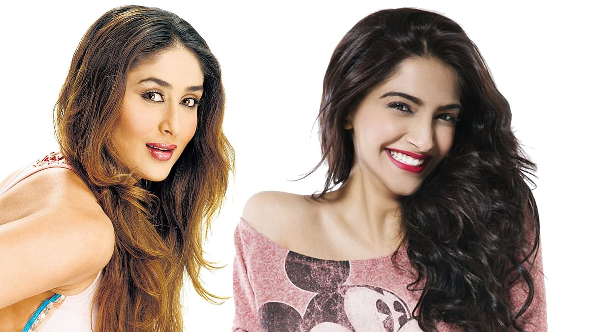 Kareena Kapoor and Sonam Kapoor. (Photo Atered by <b>The Quint</b>)