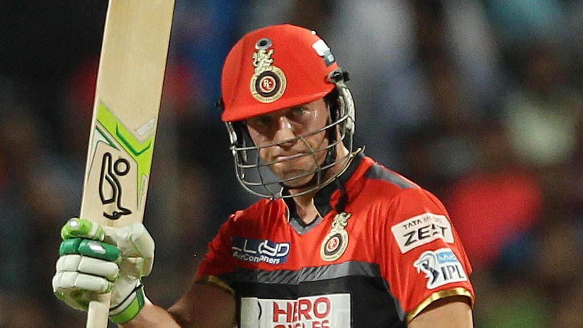 AB de Villiers. (Photo: BCCI)