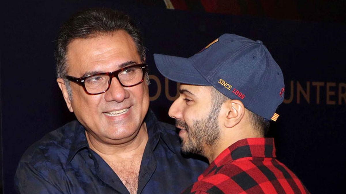 Boman Irani and Varun Dhawan  (Photo: Yogen Shah)