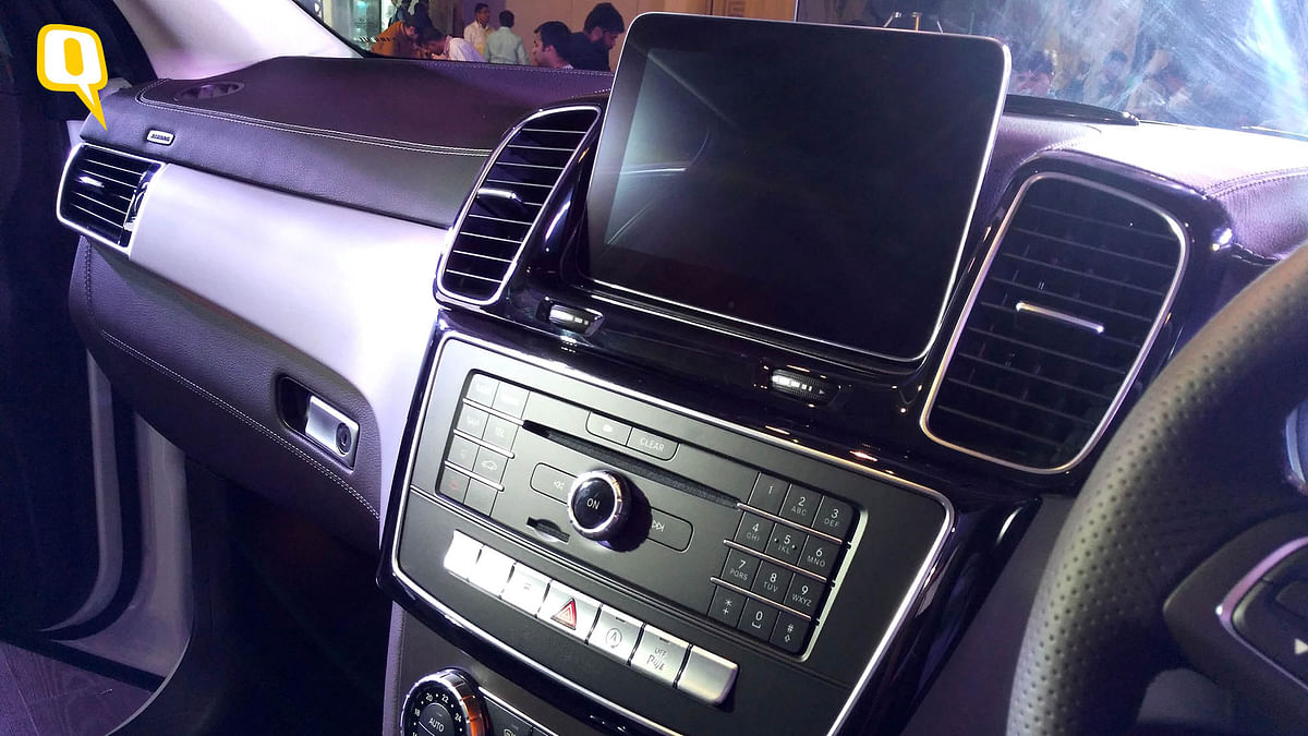 The infotainment features of the Mercedes-Benz GLS SUV. (Photo: <b>The Quint</b>)