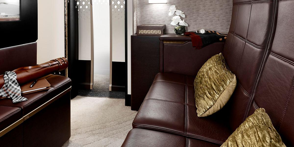 The luxury suite on The Residence. (Photo: Etihad Airways)