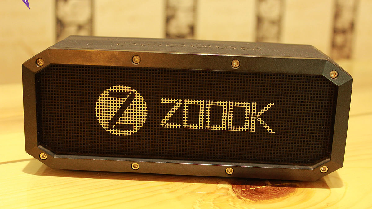 Zook Armour speaker. (Photo: <b>The Quint</b>)