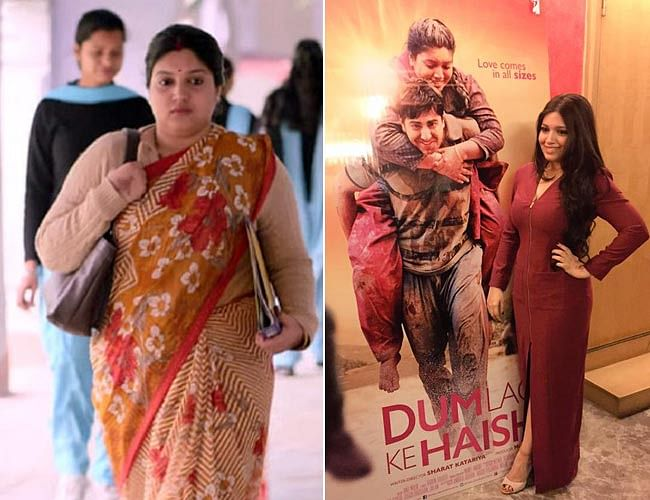Bhumi Pednekar changed her body type before her film could preach a tough message (Photo: Yogen Shah, altered by The Quint)