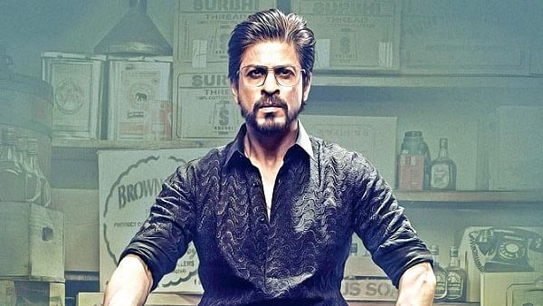 Shah Rukh Khan on the poster of <i>Raees</i>