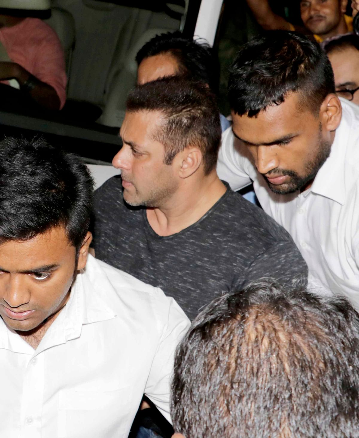 Actor Salman Khan at the <i>Baaghi </i>success bash. (Photo: Yogen Shah)