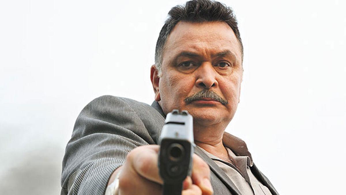 Rishi Kapoor is angry (Photo: Film still from <i>Aurangzeb)</i>
