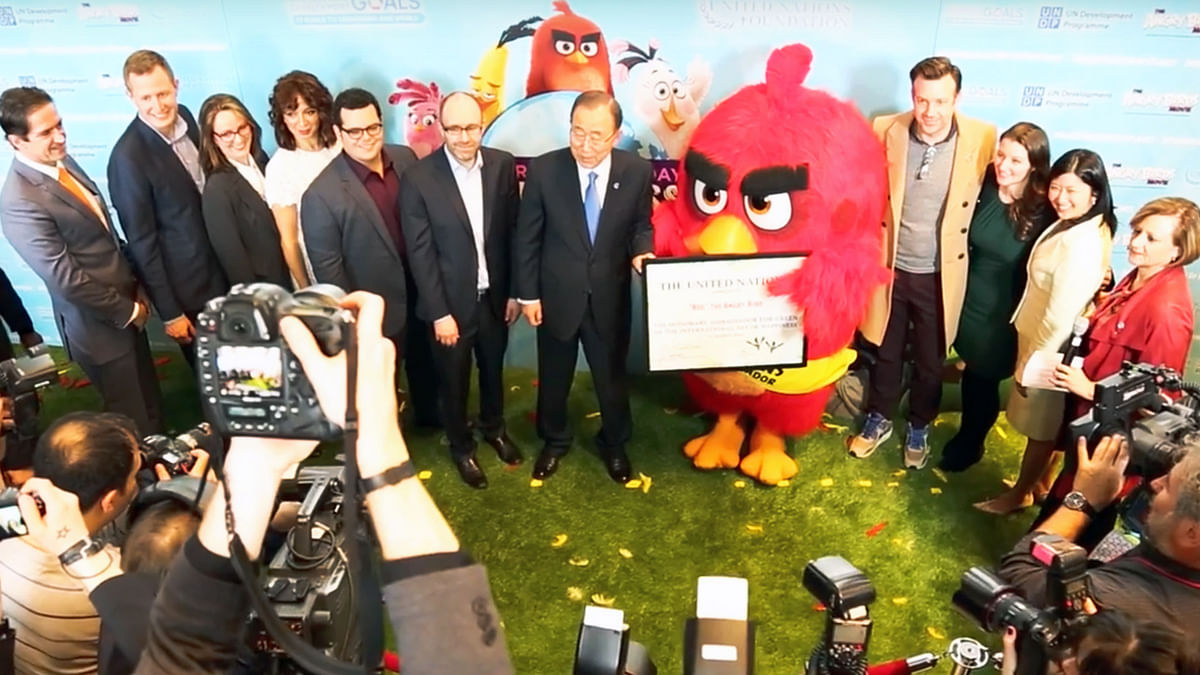Red is now an honorary ambassador for <i>International Happiness Day</i>. (Photo Courtesy: YouTube Screengrab)