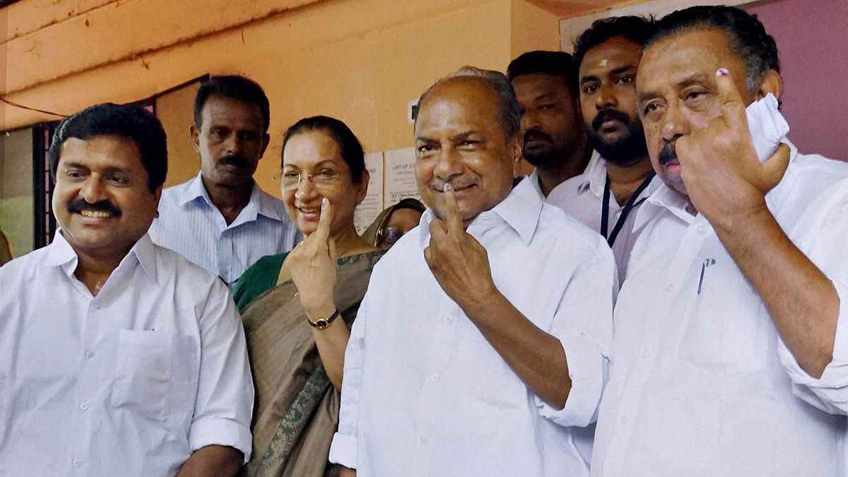 In Photos: Stars, Political Biggies at TN, Kerala Polling Booths