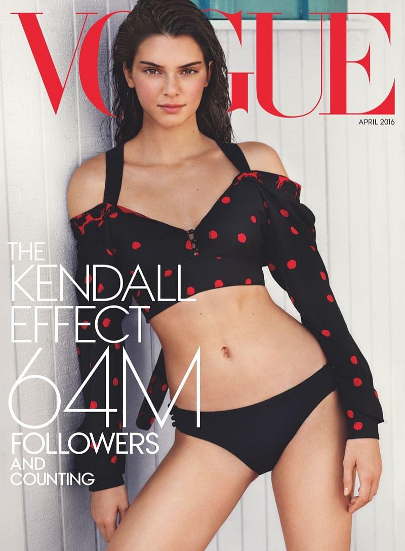 """The Vogue April 2016 issue. (Photo: <a href=""""http://www.vogue.com/magazine/"""">Mario Testino/Vogue</a>)"""