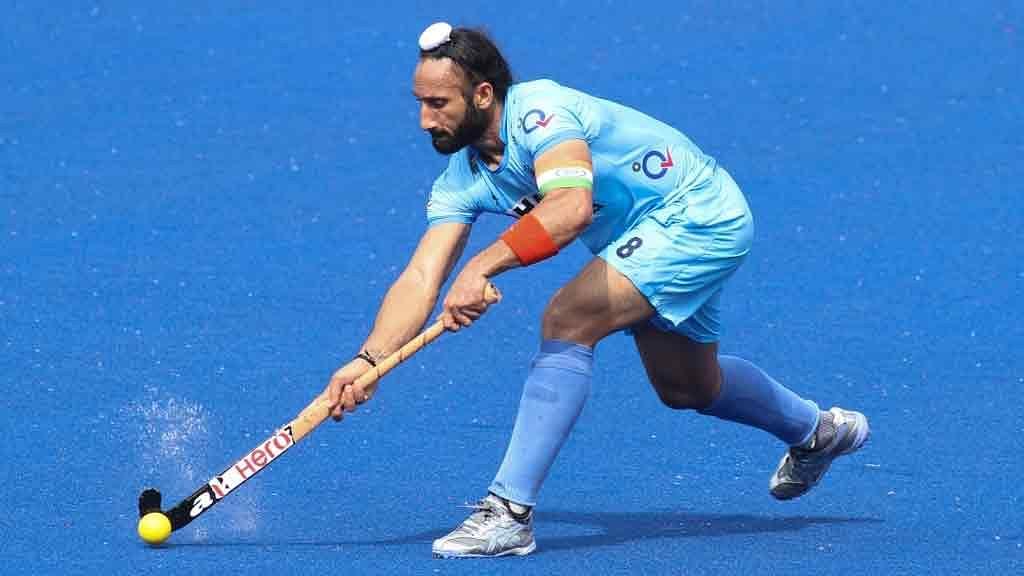 File photo of Sardara Singh, captain of the Indian Hockey Team. (Photo: IANS)
