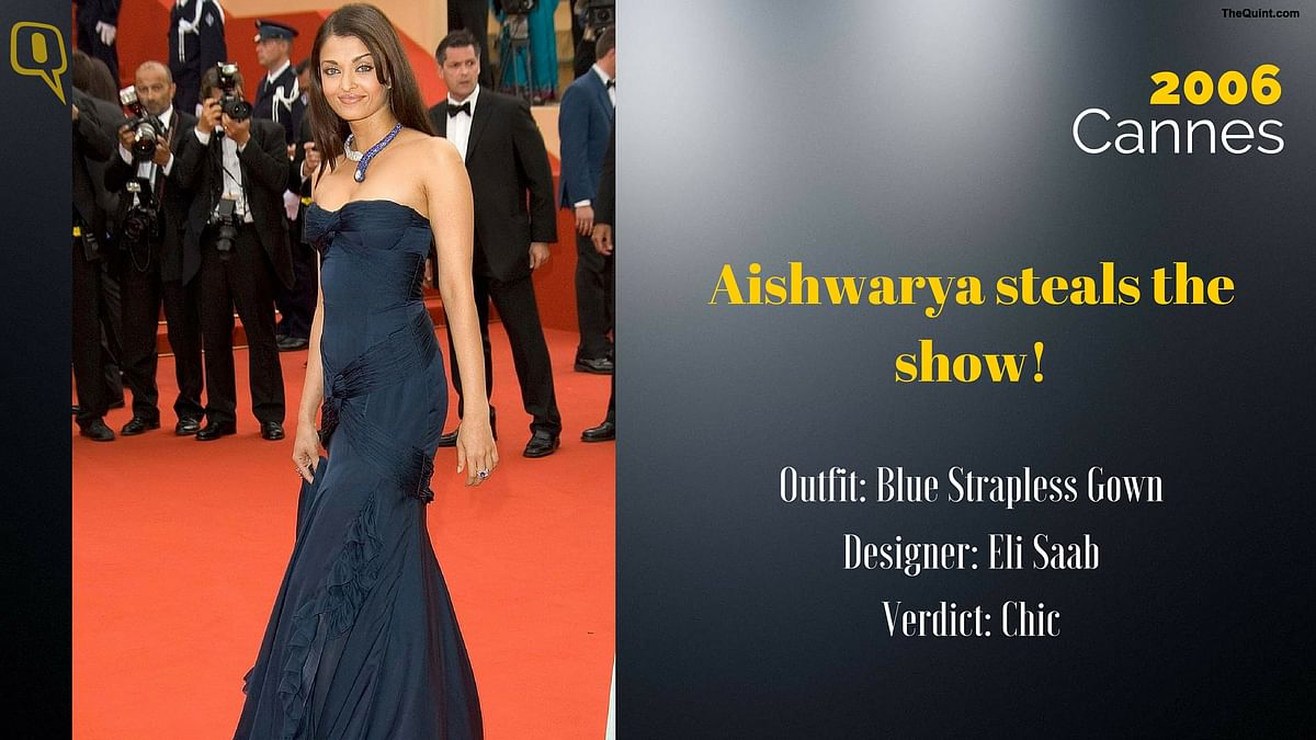 Cannes 2006: Aishwarya steals the show.