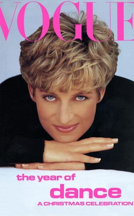 Princess Diana  on the front cover of Vogue in 1991 (Photo Courtesy: VOGUE)