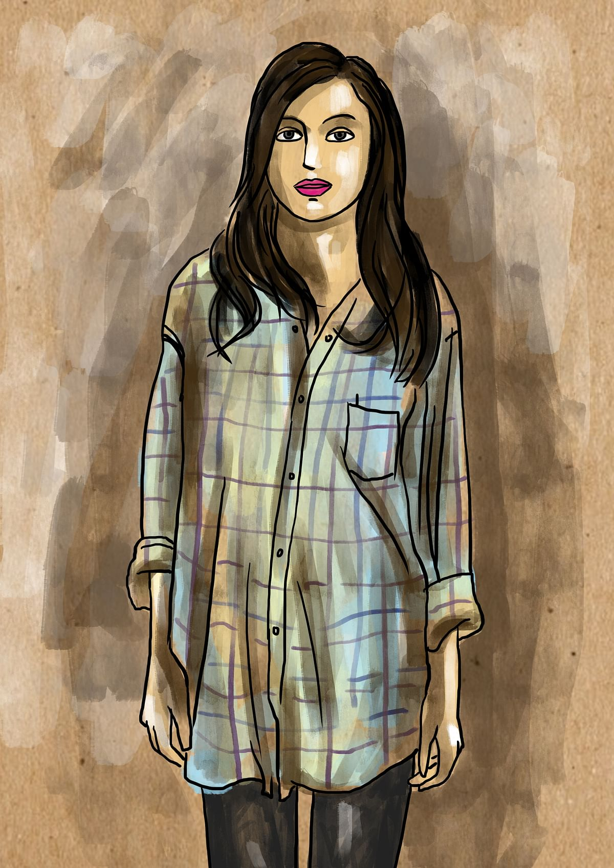 That is why we borrow from our dads' wardrobes. Pick threads. Put together memories. (Illustration by Susnata Paul/<b>The Quint</b>)