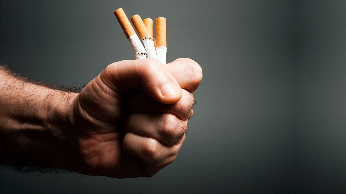 Smokers often dismiss the early signs of COPD as smoker's cough and continue to smoke. That's how the disease progresses and becomes worse.