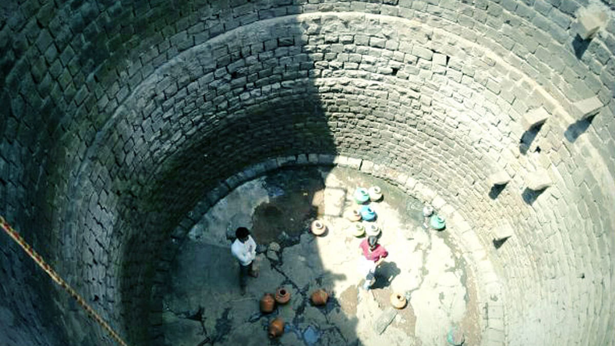On April 30, 19-year-old Anita Suryakant became  the second girl to be injured by falling around 20 feet into the stone-lined well. (Photo: <i>The News Minute</i>)