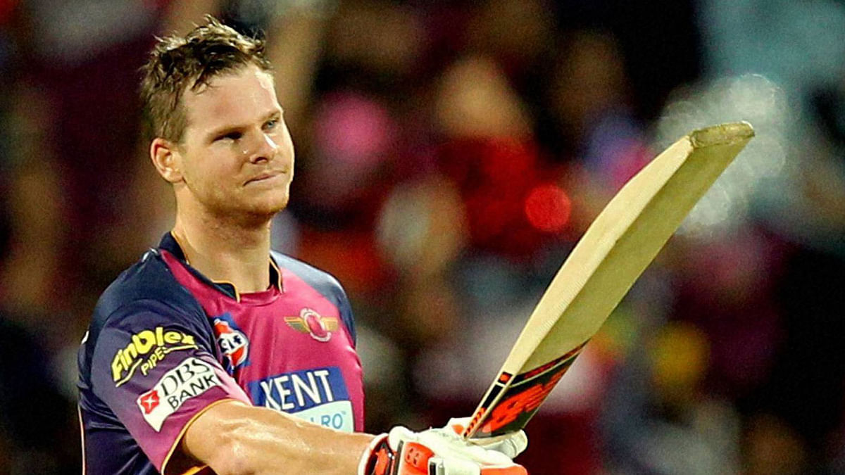 Steve Smith during his stint with Rising Pune Supergiants (Photo: PTI)