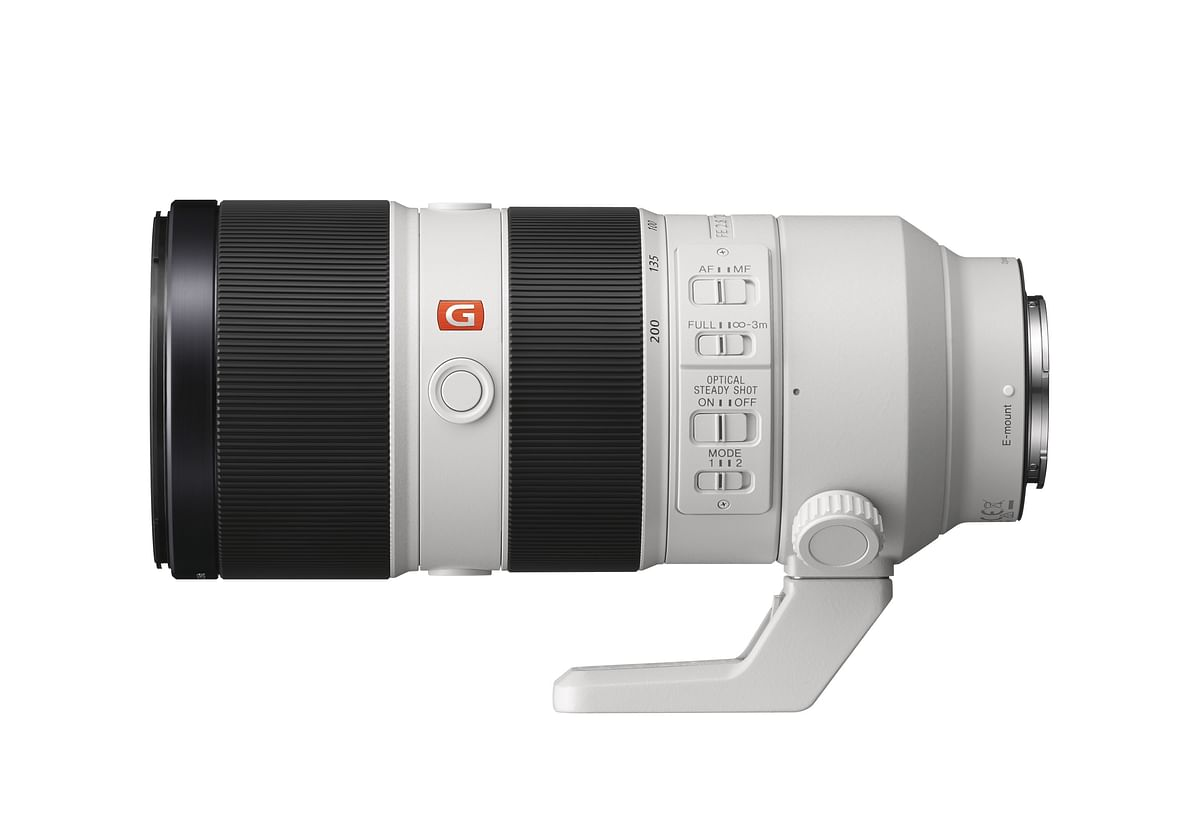 Sony G Master Brand FE 70-200mm F2.8 GM OSS telephoto zoom lens. (Photo: Sony India)