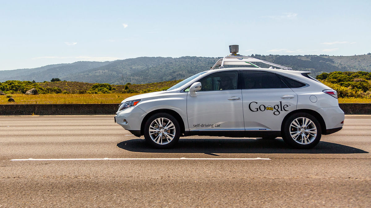 Google's self-driving car. (Photo: iStockphoto)