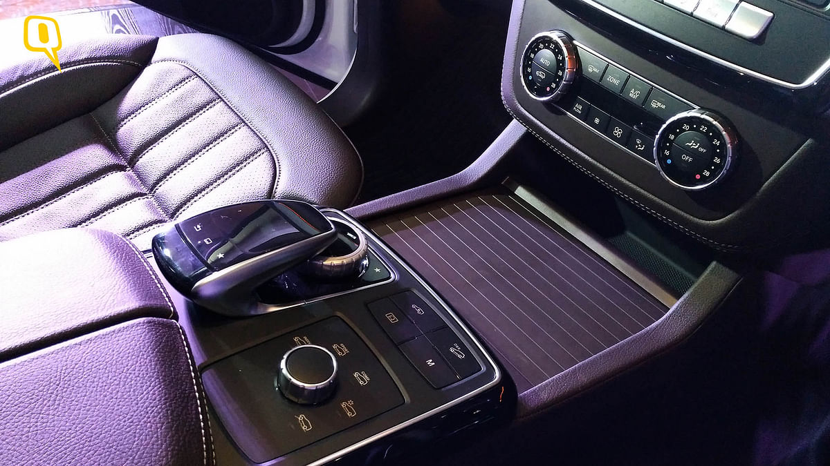 The 9-speed automatic transmission. (Photo: <b>The Quint</b>)