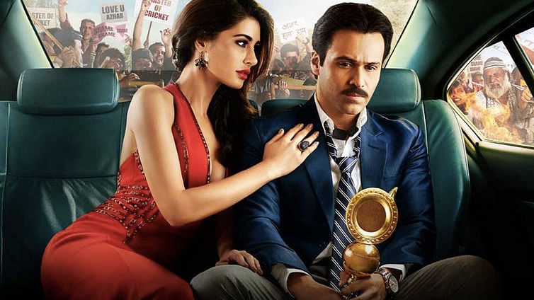 """Azhar movie poster. (Photo Courtesy: <a href=""""https://twitter.com/bookmyshow"""">BookMyShow Twitter</a>)"""