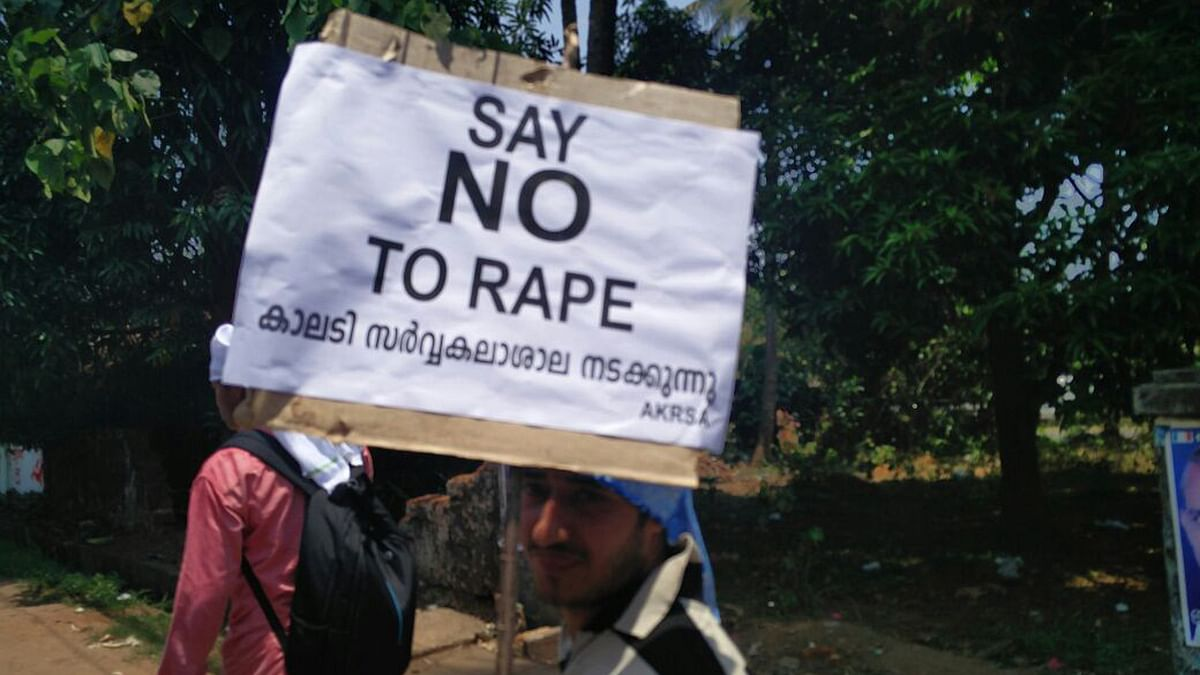 An anti-rape protest. Photo used for representational purpose. (Photo: <b>The Quint</b>)