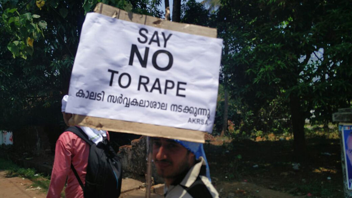 Anti-rape protest.