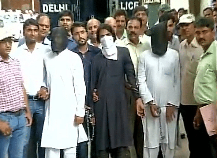 On Wednesday, Delhi Police arrested 12suspected Jaish-e-Mohammed terrorists. (Photo: ANI)