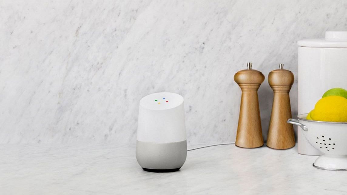 Google Home serves Search in the voice avatar. (Photo: Google Home)
