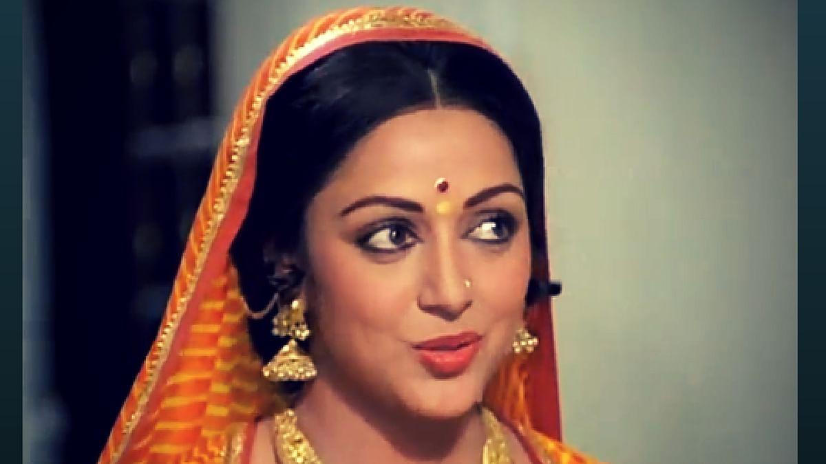 Hema Malini in a scene from Gulzar's <i>Meera</i> (1979)