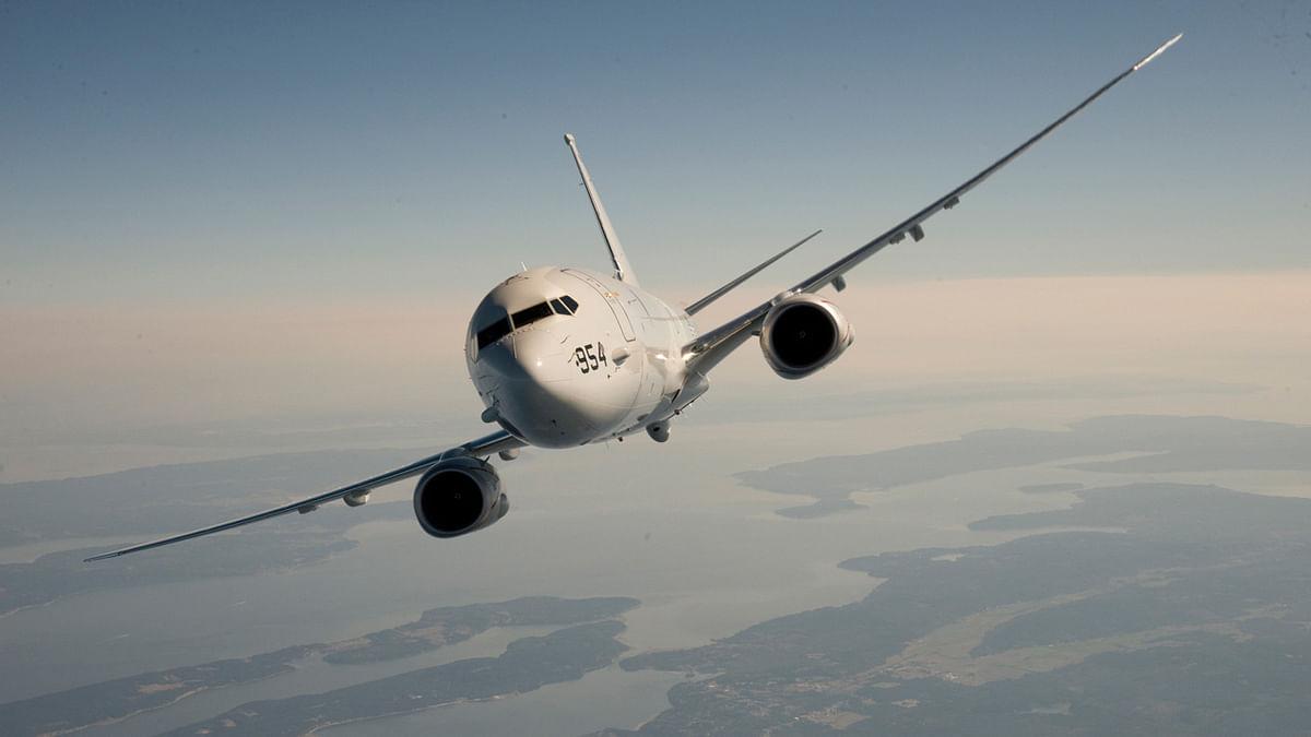"A P-8 aircraft. (Photo Courtesy: Boeing <a href=""http://www.boeing.com/defense/maritime-surveillance/p-8-poseidon/#/gallery"">website</a>)"