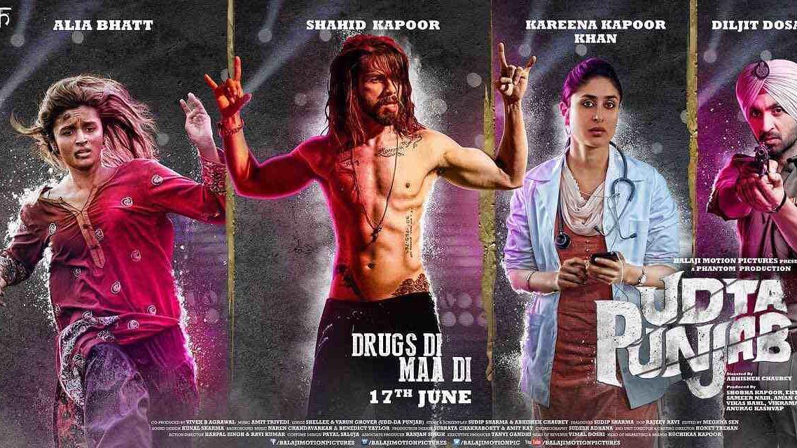 A poster of <i>Udta Punjab. </i>(Photo: Balaji Motion Pictures)