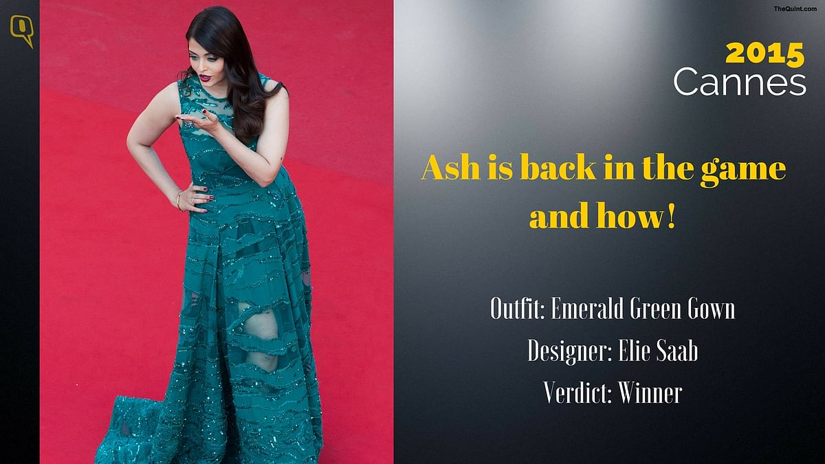 Cannes 2015: Ash is back in the game and how.