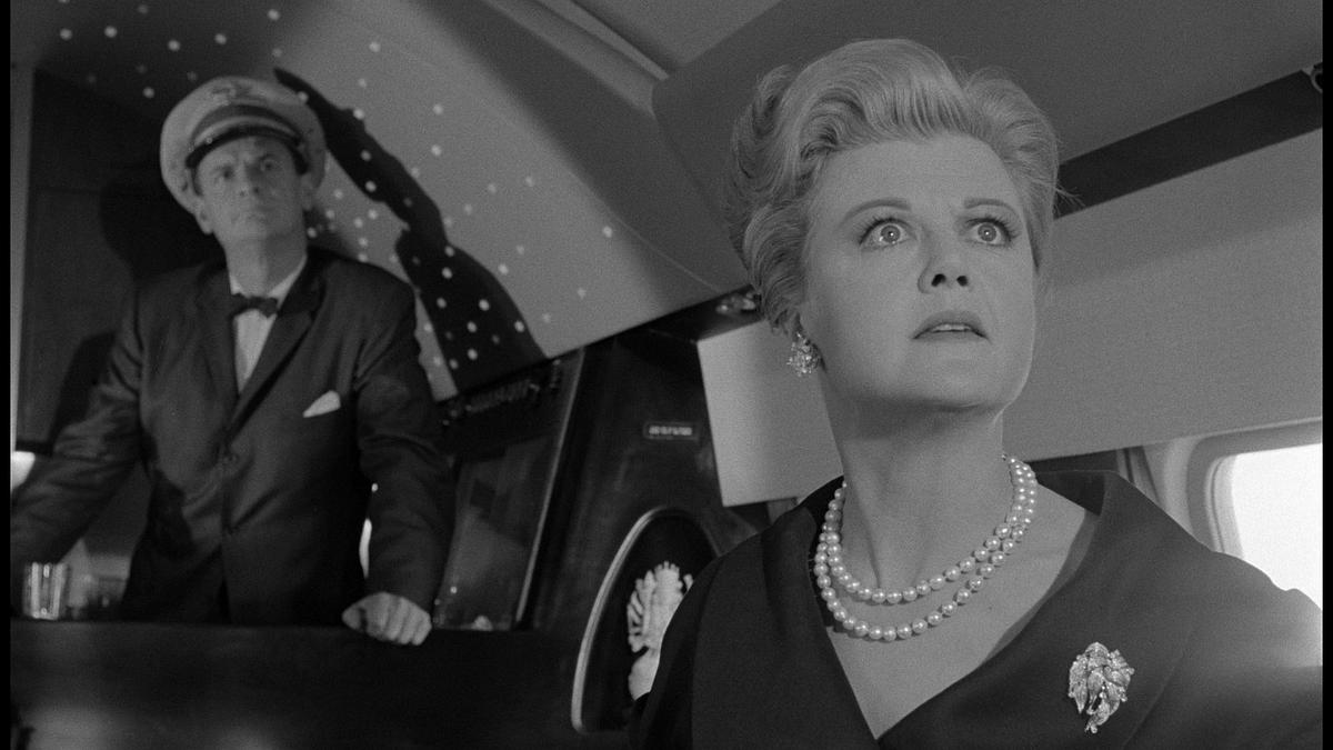 Angela Lansbury in <i>The Manchurian Candidate</i>