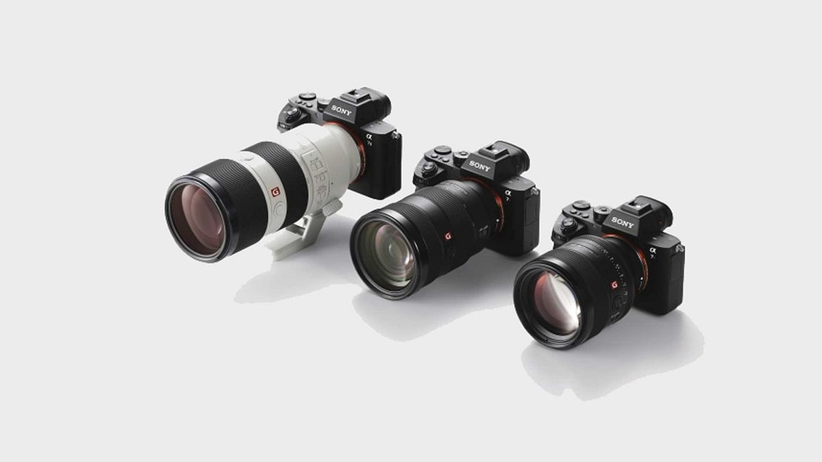 Sony launches G Master brand of lenses for it's alpha-DSLR cameras. (Photo: Sony India)