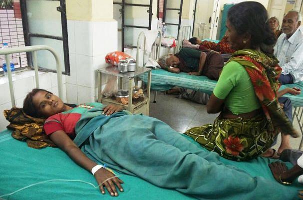 Anita in the hospital. (Photo Courtesy: <i>The News Minute</i>)