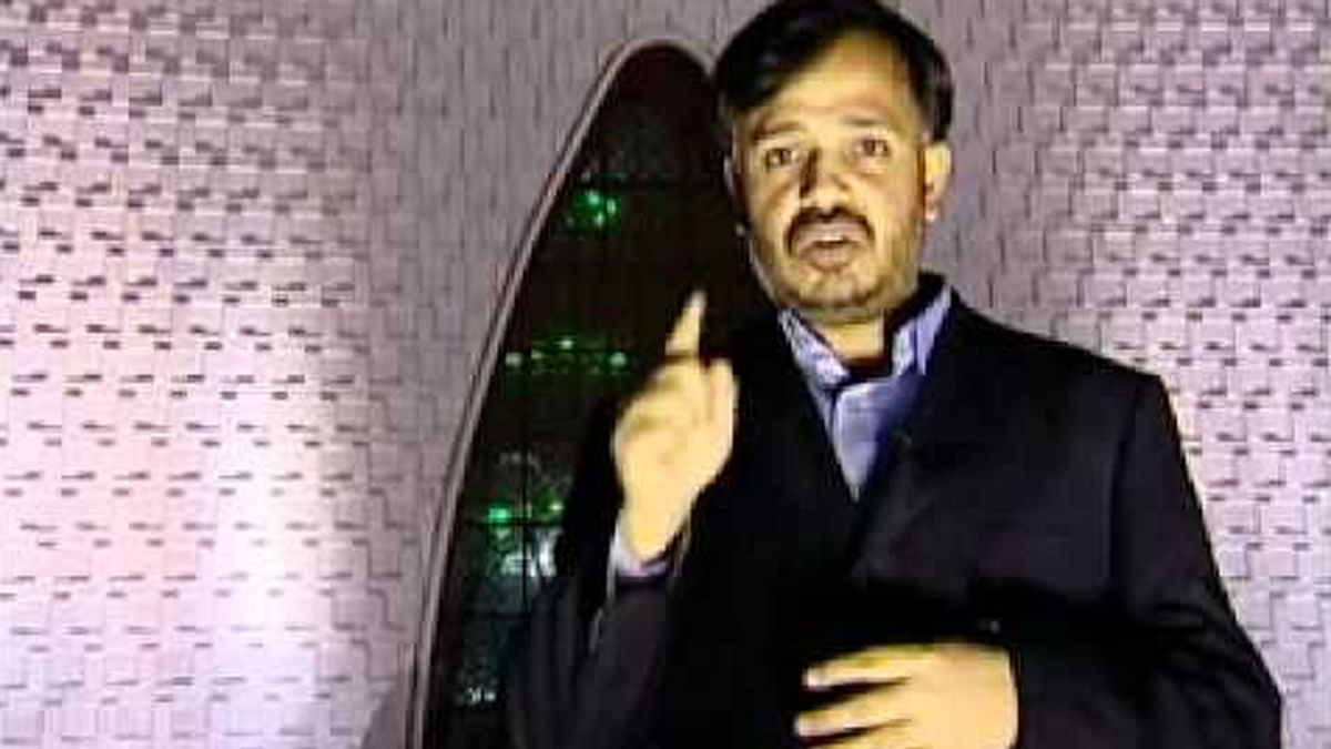 """Khurram Zaki was known for his strong stance against religious extremism in Pakistan. (Photo Courtesy: <a href=""""https://www.youtube.com/watch?v=qIq_NxmCovA"""">YouTube screenshot</a>)"""
