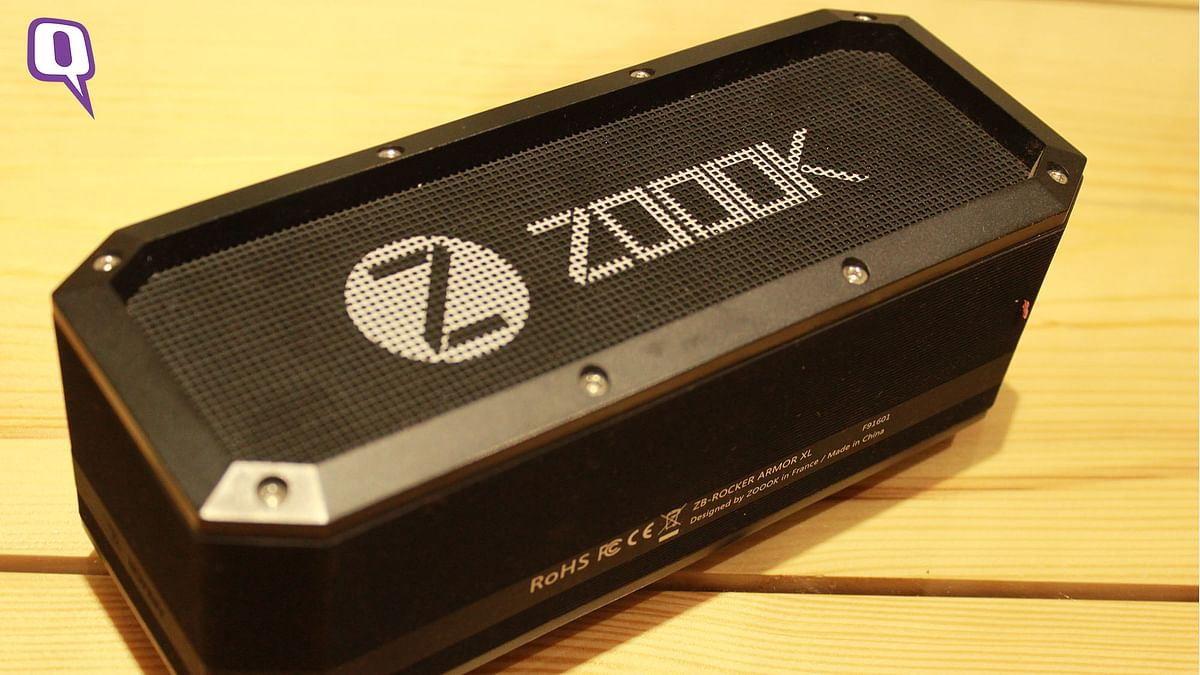 Zook Armour speaker is shockproof. (Photo: <b>The Quint</b>)