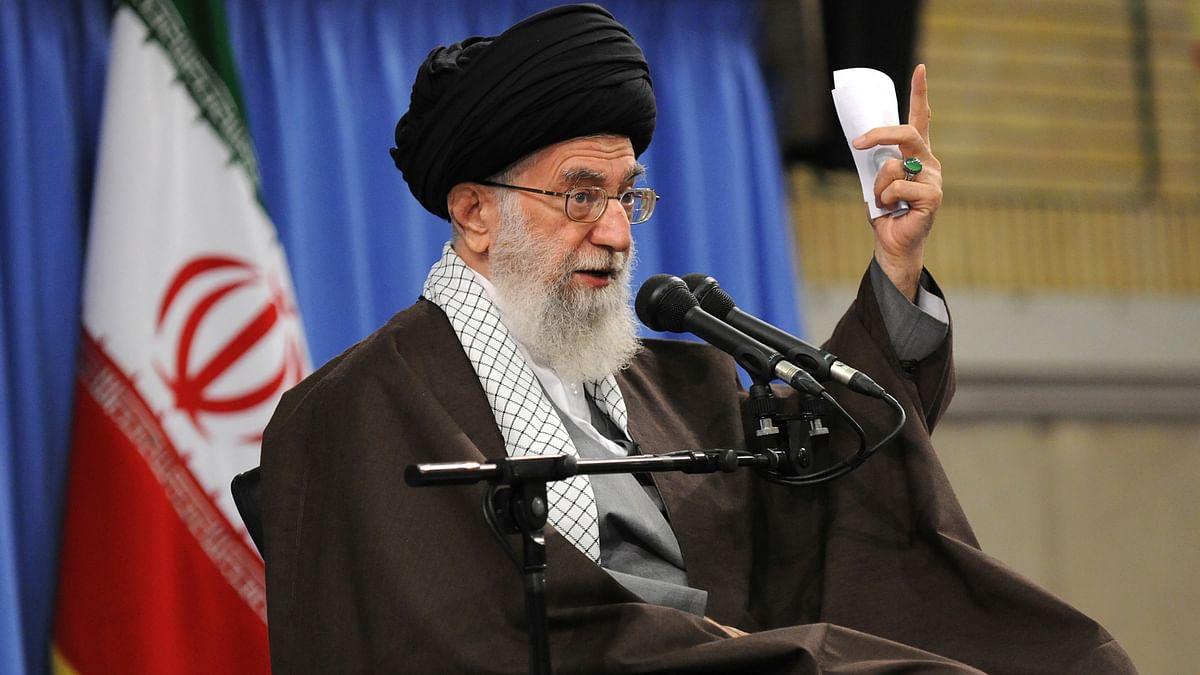 Iranian cleric Ayatollah Ali Khamenei. (Photo: AP)