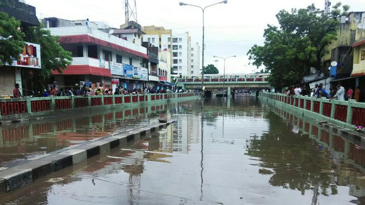 Chennai received 27 cm of rainfall on Sunday alone. (Photo Courtesy: <i>The News Minute</i>)
