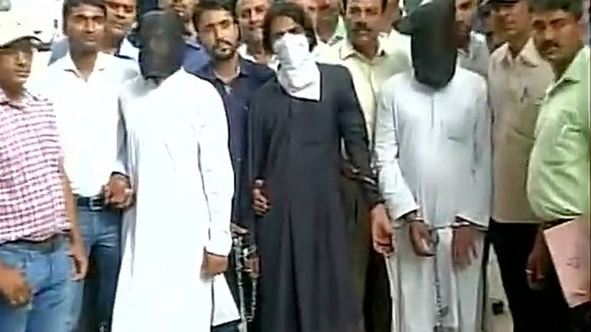 Three of the total 12 accused have been sent for police custody for 10 days. (Photo: ANI)