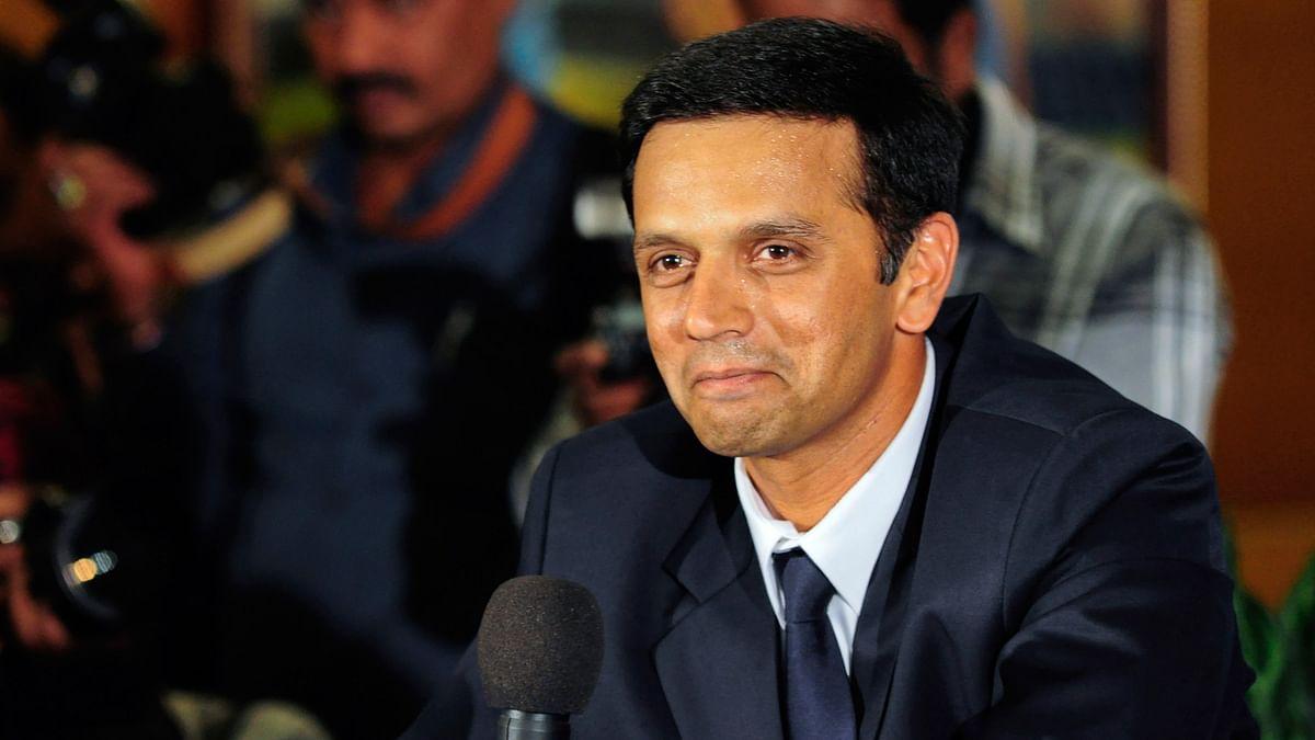 File photo of Rahul Dravid. (Photo: Reuters)