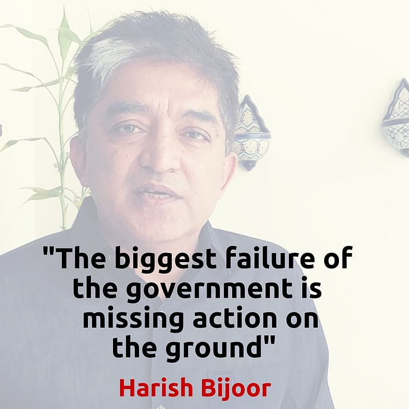 Harish Bijoor (Photo altered by <b>The Quint</b>/Parul Agrawal)