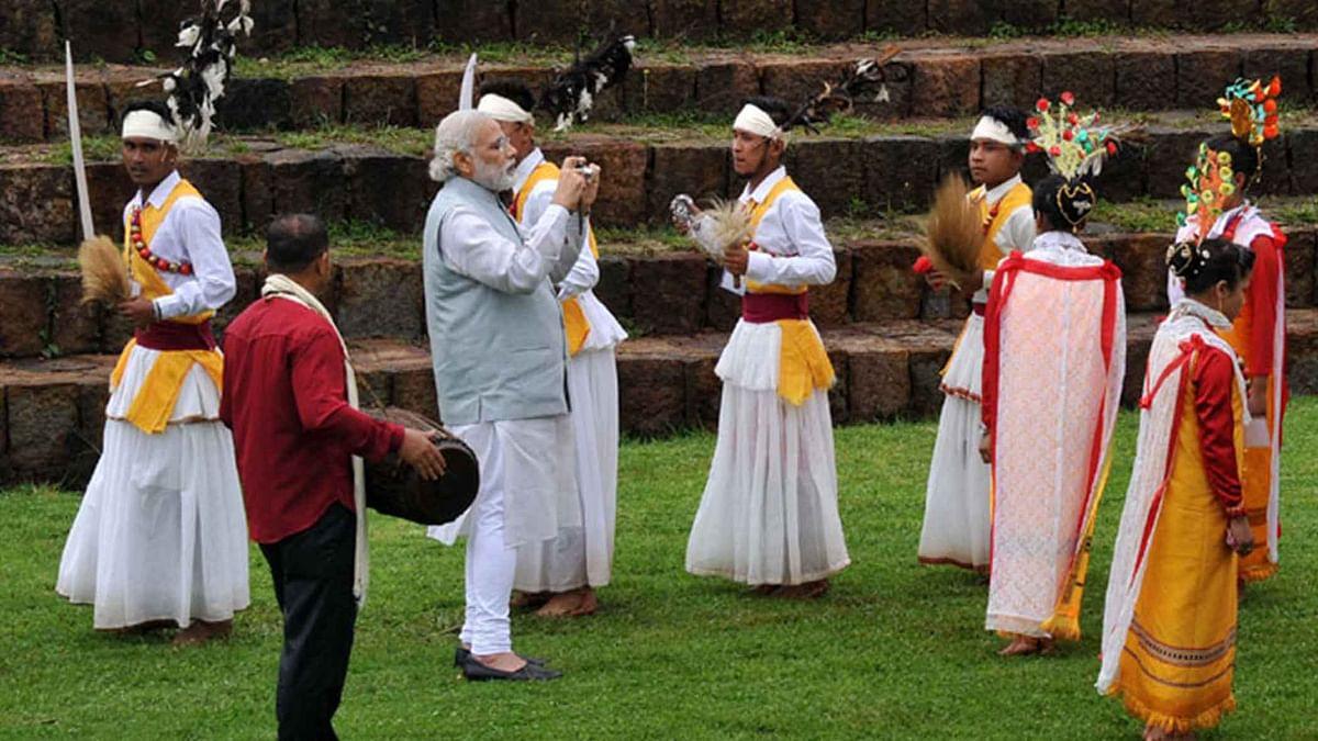 PM Narendra Modi in Meghalaya.