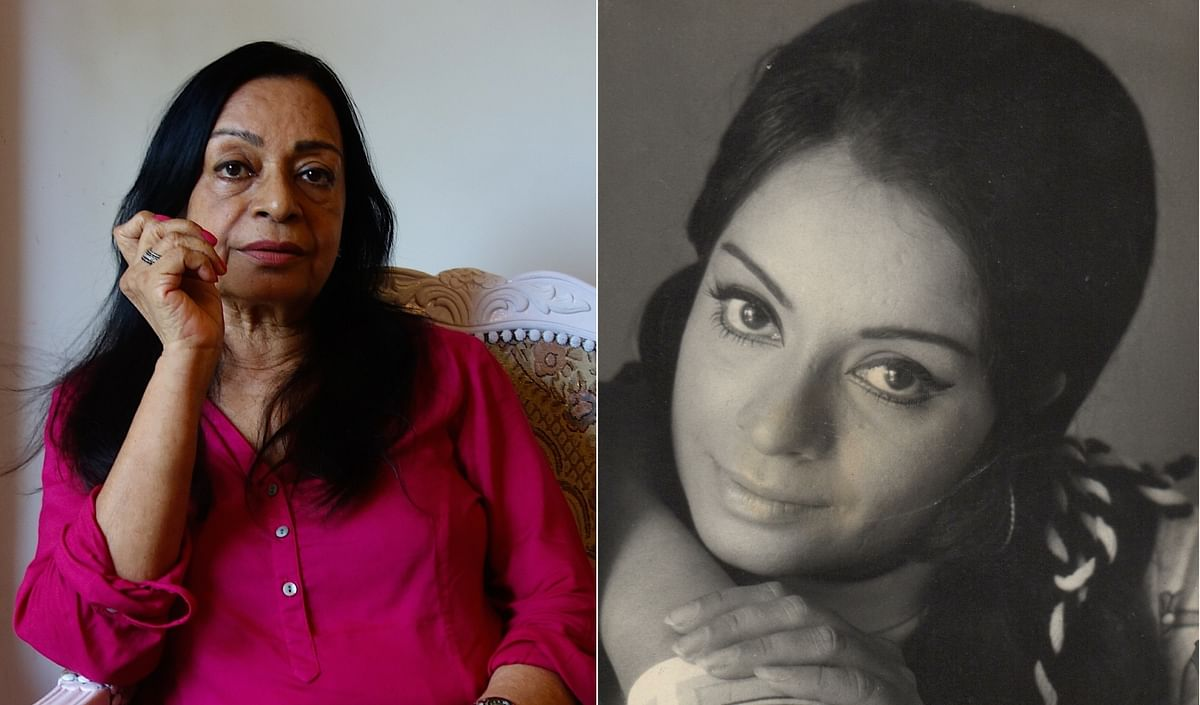 Rehana Sultan last made an appearance in Sudhir Mishra's <i>Inkaar; </i>Seen on the right in a studio portrait photo from the 1970s