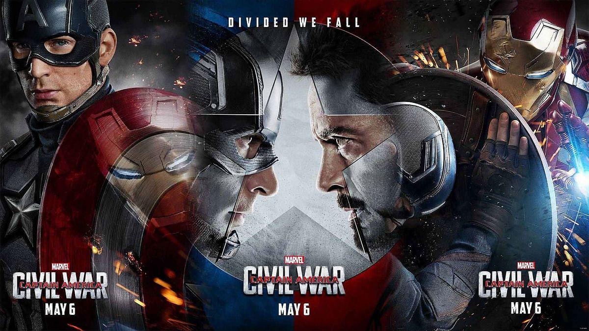 Movie poster of&nbsp;<i>Captain America: Civil War </i>