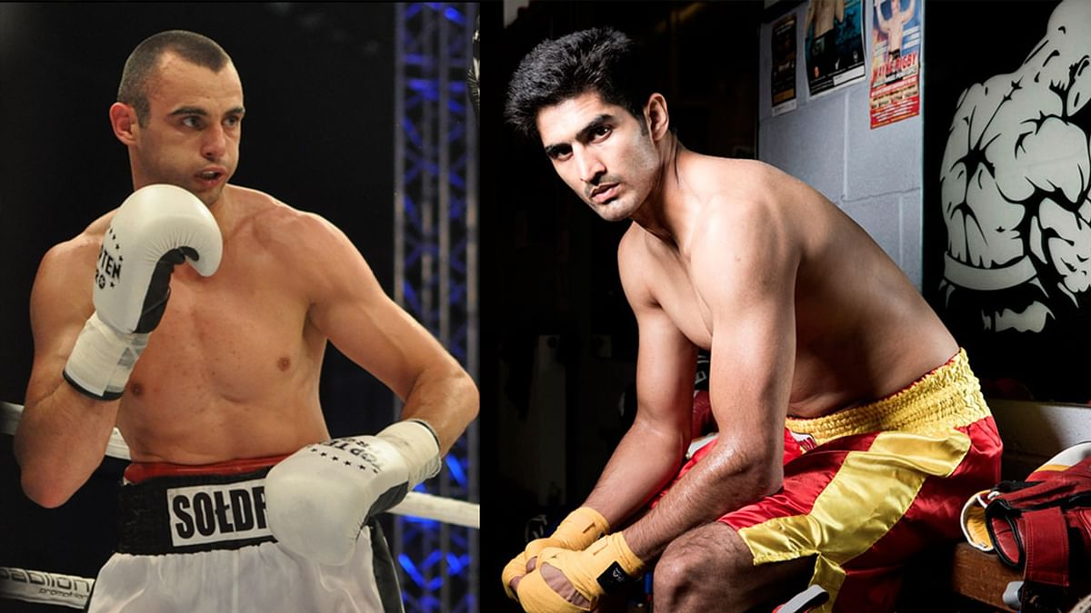 """Vijender has knocked out all his opponents so far (Photo: The Quint/<a href=""""http://www.bokser.org/content/2014/10/04/104228/index.jsp"""">Bokser</a>)"""